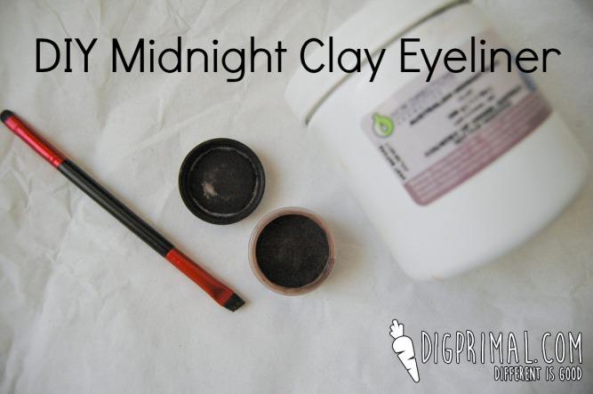 DIY Midnight Clay Eyeliner