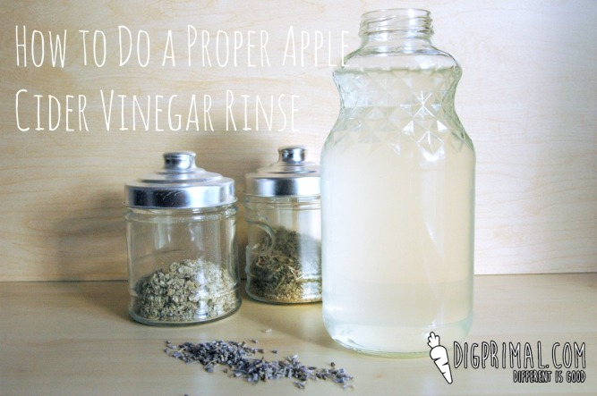 How to Do A Proper Apple Cider Vinegar Rinse