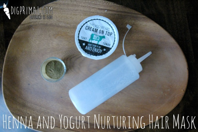 Henna and Yogurt Nurturing Hair Mask