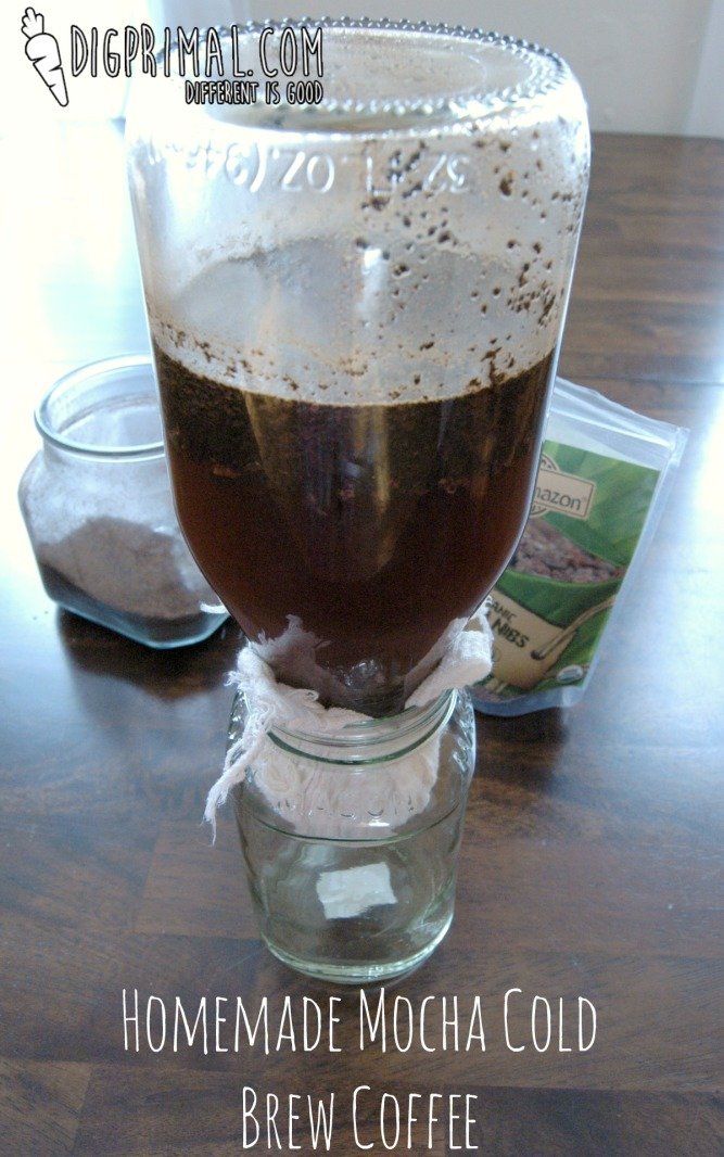 Homemade Mocha Cold Brew Coffee