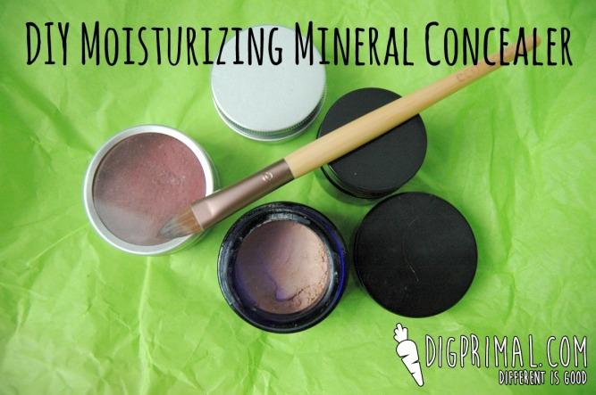 DIY Moisturizing Mineral Concealer