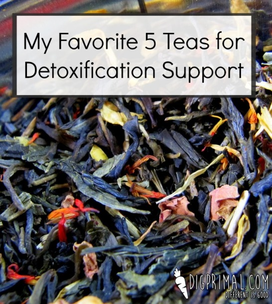 My Favorite 5 Teas for Detoxification Support