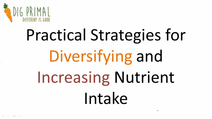 Practical Strategies for Diversifying and Increasing Nutrient Intake
