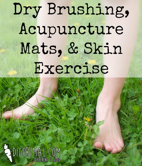 Dry Brushing, Acupuncture Mats, and Skin Exercise