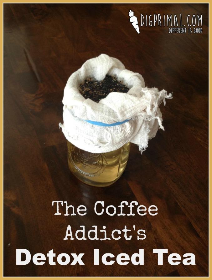 The Coffee Addict's Detox Iced Tea