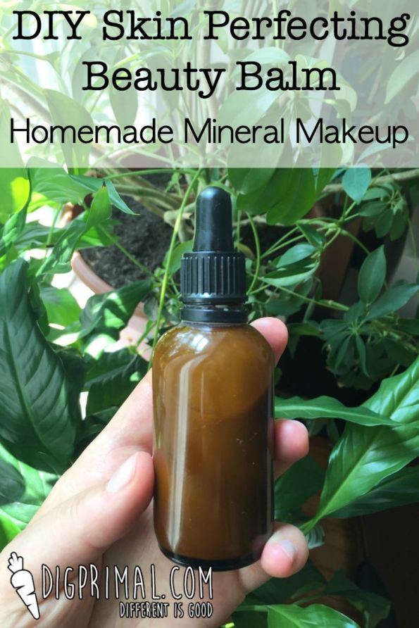DIY Skin Perfecting Beauty Balm Homemade Mineral Makeup