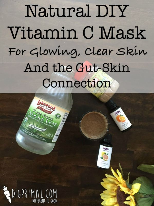 Natural DIY Vitamin C Mask