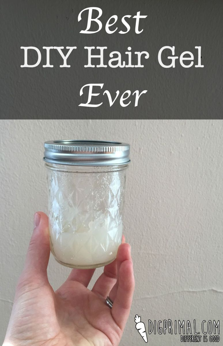 Best DIY Hair Gel Ever