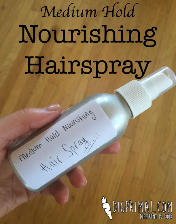Medium Hold Nourishing Hairspray