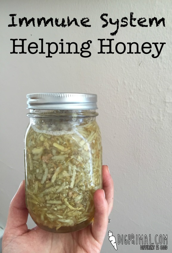 Immune System Helping Honey