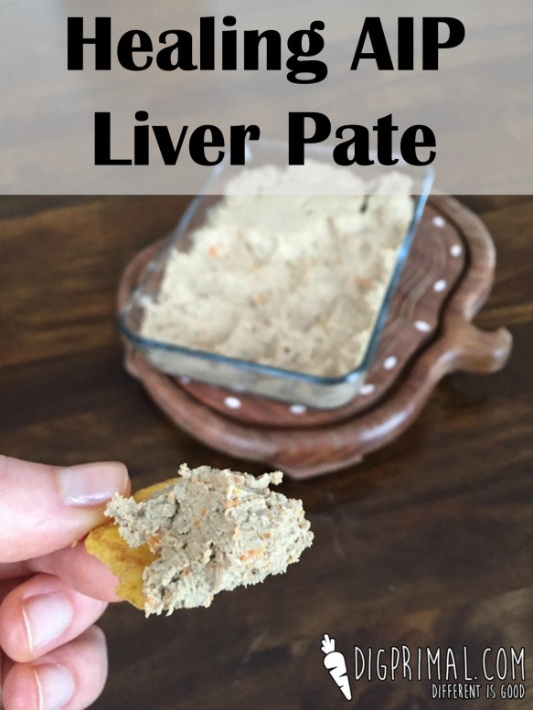 Healing AIP Liver Pate